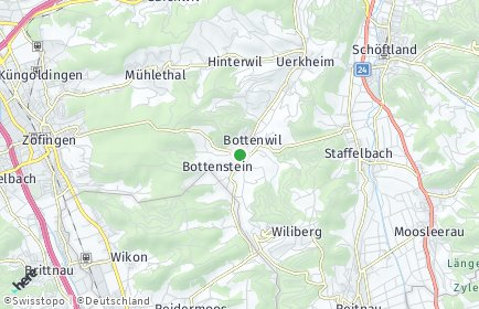 Stadtplan Bottenwil