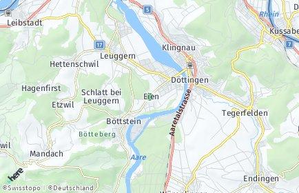 Stadtplan Böttstein