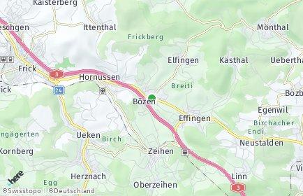 Stadtplan Bözen