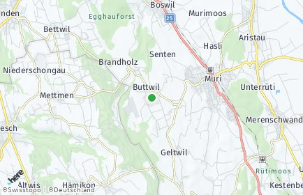 Stadtplan Buttwil