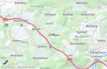 Stadtplan Effingen
