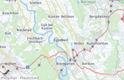 Stadtplan Eggenwil
