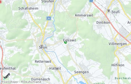 Stadtplan Egliswil