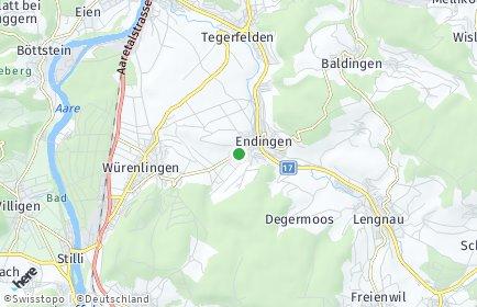 Stadtplan Endingen OT Unterendingen