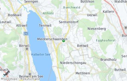 Stadtplan Fahrwangen