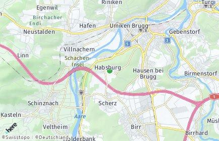 Stadtplan Habsburg