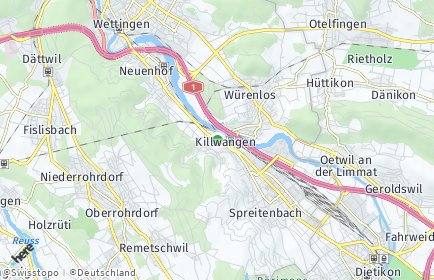 Stadtplan Killwangen
