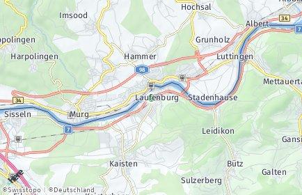 Stadtplan Laufenburg