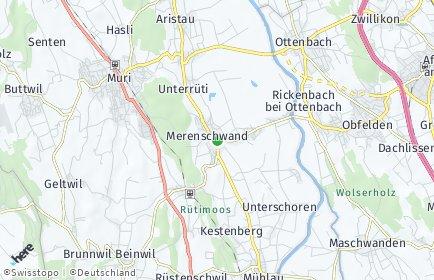 Stadtplan Merenschwand