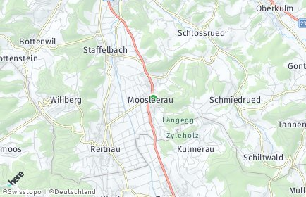 Stadtplan Moosleerau