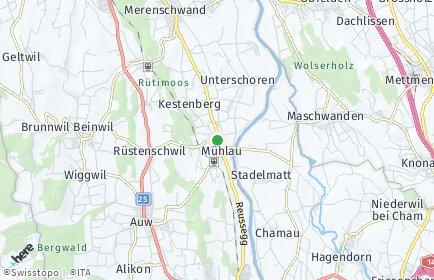 Stadtplan Mühlau