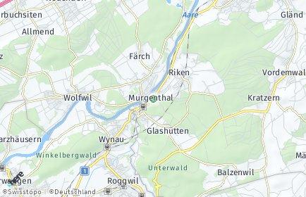 Stadtplan Murgenthal