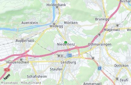 Stadtplan Niederlenz