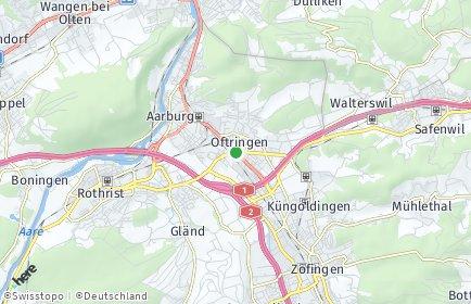 Stadtplan Oftringen