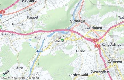 Stadtplan Rothrist