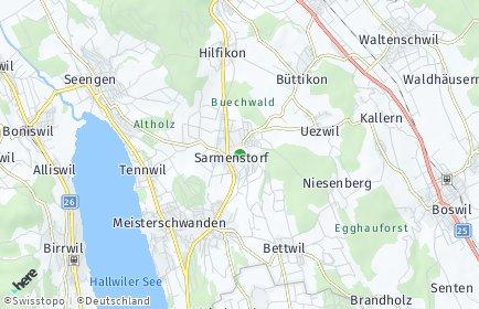 Stadtplan Sarmenstorf
