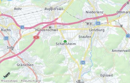 Stadtplan Schafisheim