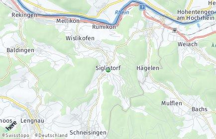Stadtplan Siglistorf