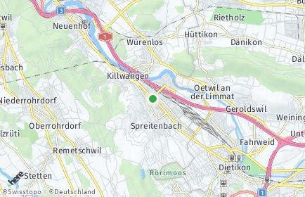 Stadtplan Spreitenbach