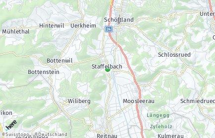 Stadtplan Staffelbach