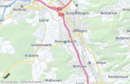 Stadtplan Strengelbach