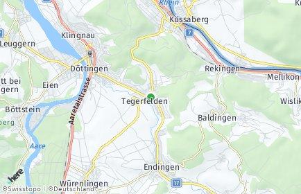 Stadtplan Tegerfelden