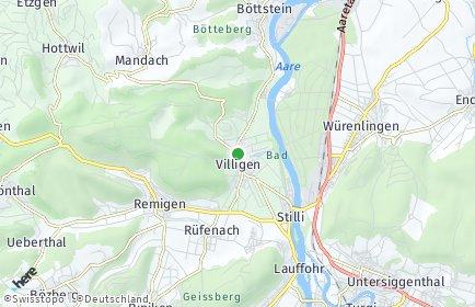 Stadtplan Villigen