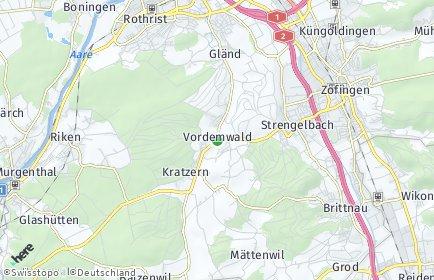 Stadtplan Vordemwald