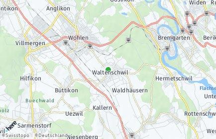 Stadtplan Waltenschwil