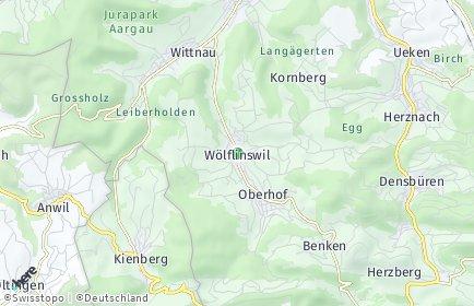 Stadtplan Wölflinswil