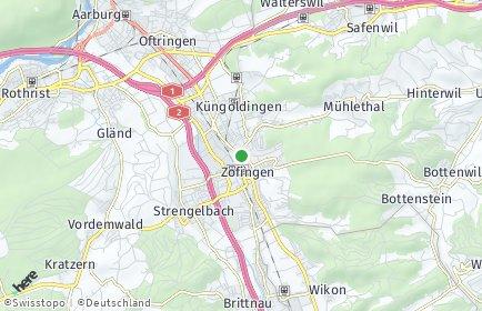 Stadtplan Zofingen