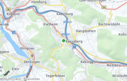 Stadtplan Bad Zurzach