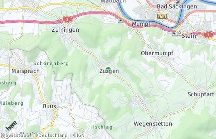 Stadtplan Zuzgen