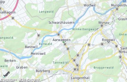 Stadtplan Aarwangen