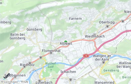 Stadtplan Attiswil