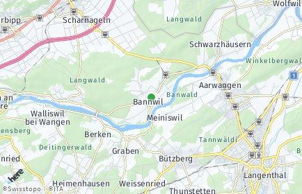 Stadtplan Bannwil