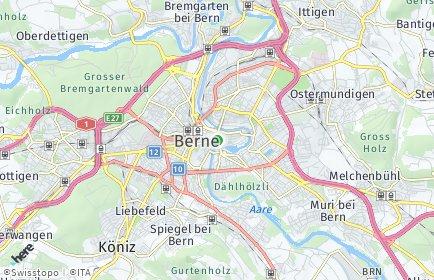 Stadtplan Bern OT Sandrain
