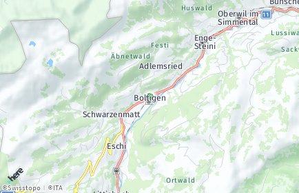 Stadtplan Boltigen