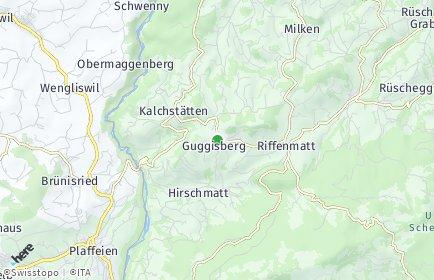 Stadtplan Guggisberg