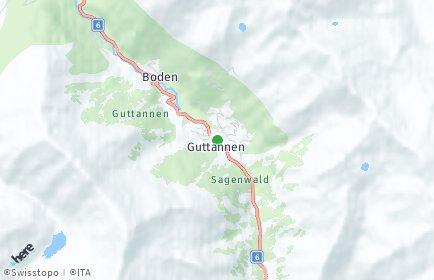 Stadtplan Guttannen