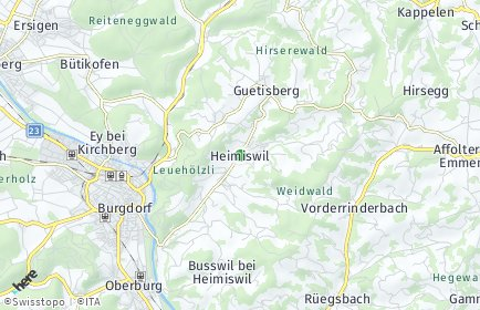 Stadtplan Heimiswil