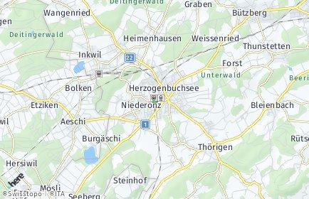 Stadtplan Herzogenbuchsee