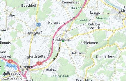 Stadtplan Hindelbank