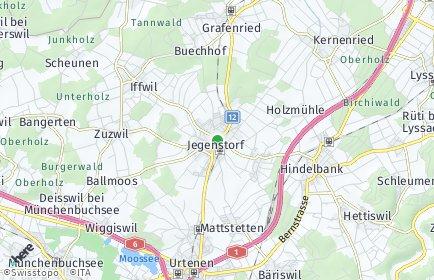 Stadtplan Jegenstorf