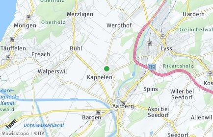 Stadtplan Kappelen