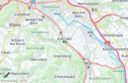 Stadtplan Kehrsatz