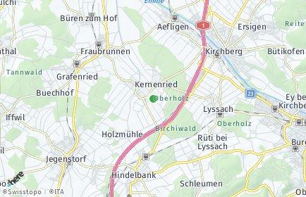 Stadtplan Kernenried