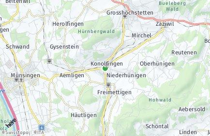 Stadtplan Konolfingen OT Konolfingen