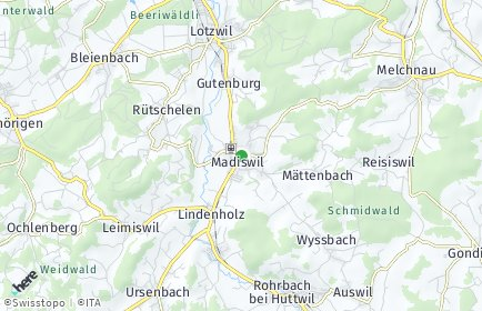 Stadtplan Madiswil