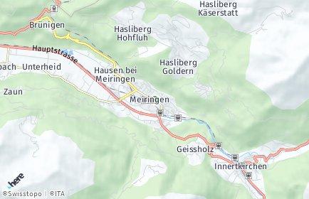 Stadtplan Meiringen